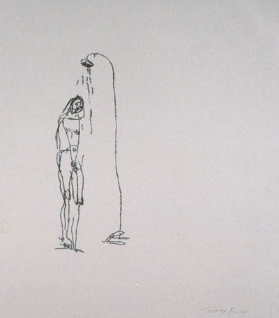 Sad Shower in New York (1995), Tracey Emin