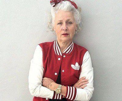 おしゃれなおばあちゃんサラジェーン・アダムスのInstagramが素敵♪ - ツイナビ | ツイッター(Twitter)ガイド