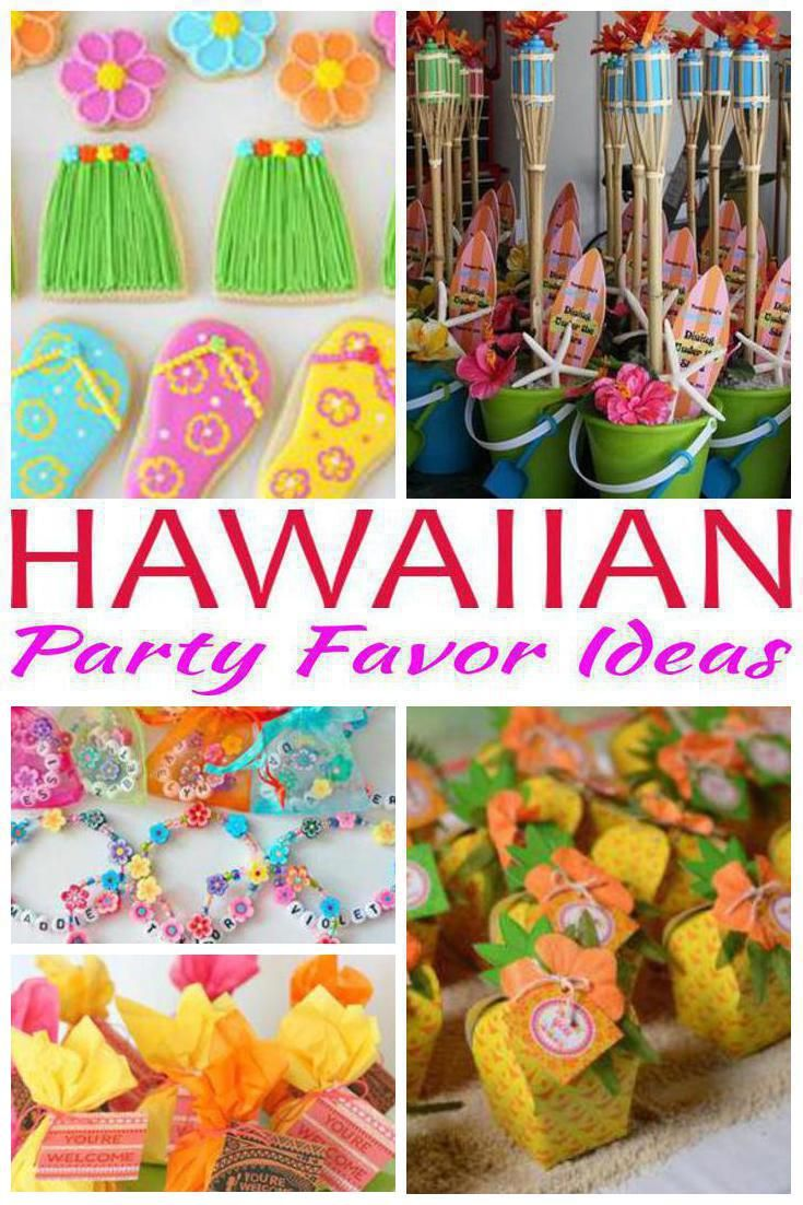 Pineapple Party Favor Tween Birthday Luau Party Favor Candy Party Favor 18 Set of
