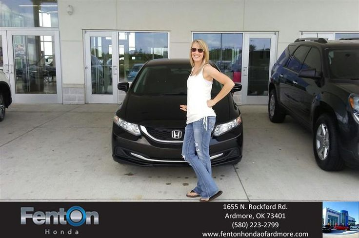 Happy Anniversary to Whitney on your #Honda #Civic Sedan from Ryan Adcock at Fenton Honda of Ardmore!  https://deliverymaxx.com/DealerReviews.aspx?DealerCode=A687  #Anniversary #FentonHondaofArdmore