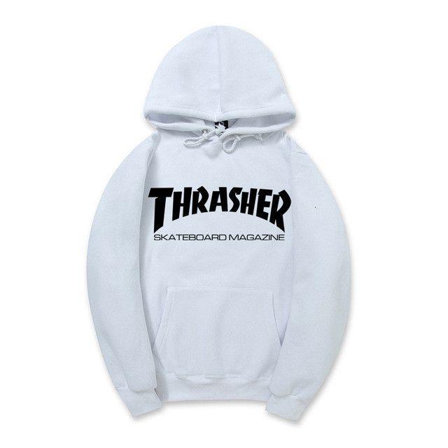 Thrasher Hip Pop Hoodies Men Women Skateboard Fleece Men Couples Brand Sweatshirt Pigalle Mens Suits Warm pull trasher