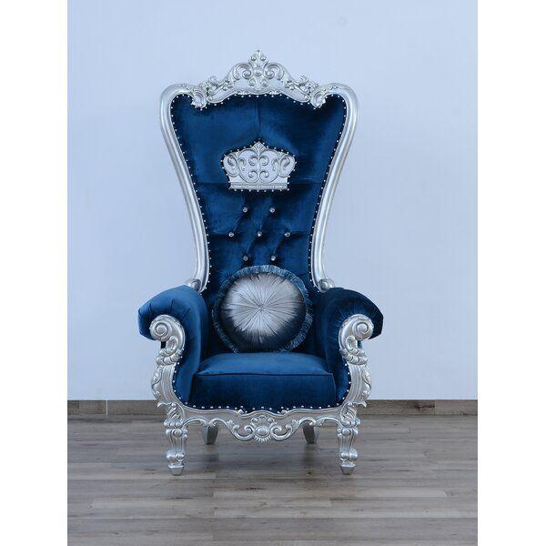 Sylvania Queen Elizabeth Armchair Armchair Luxury Chairs Ornate Chairs