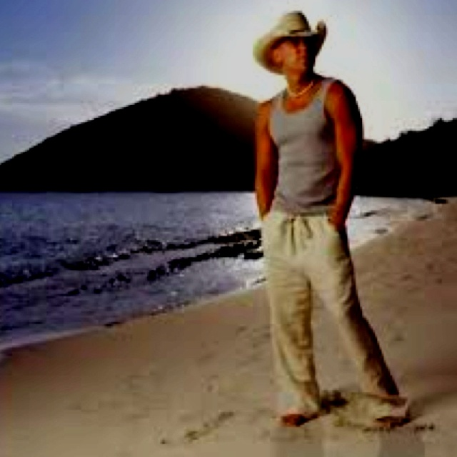 kenny chesney, when you just need to grab your flip flops and head to the beach or close your eyes and imagine.