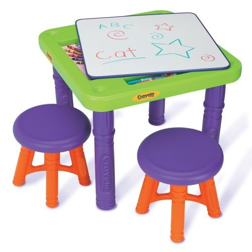 Grown Up Crayola Sit n Draw Play Art Table