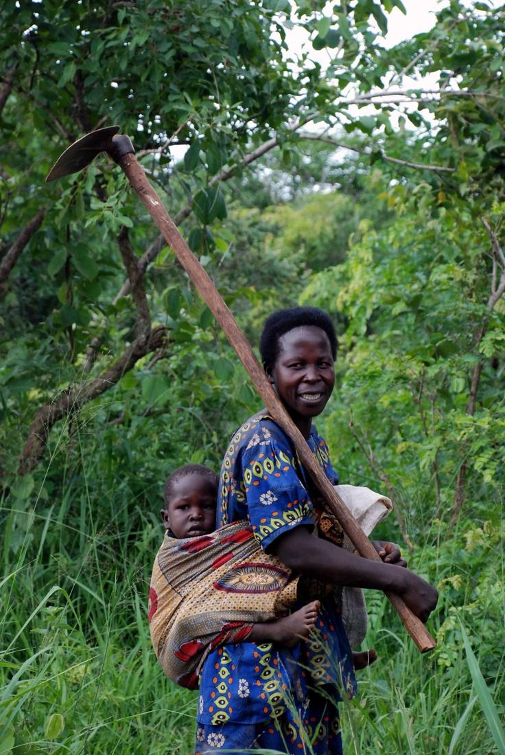 Uganda 2010--goin' to work!
