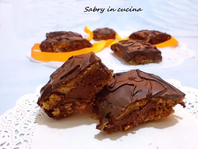 Merendine al caffè e cioccolato tipo fiesta - Ricetta golosa - Sabry in cucina