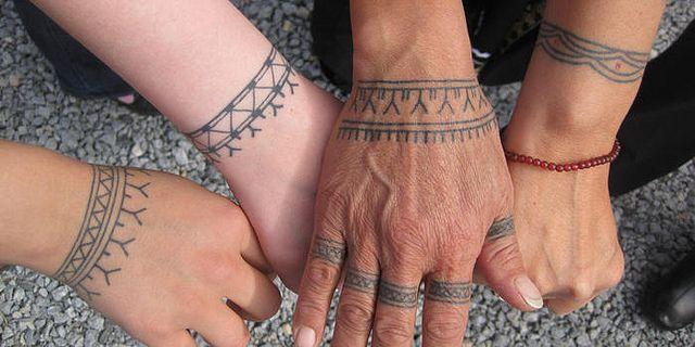 Inuit tattoos