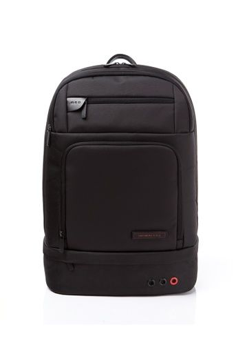 """Samsonite Red Buttonism Backpack + Laptop Pouch Color: Black  Material: 100% Nylon  Adjustable shoulder straps  iPad 14"""" compartment  SKU: 648171596 *CNU  Model: 27S(0)41001  Size (L x W x H): 31 X 20.2 X 47.1cm  Weight: 1  warranty: Limited 2 years with warranty card (see attached).  Original price: RM799  Purchase before before RM further depreciate against USD.   #Black Backpack #Travel Gear Malaysia"""