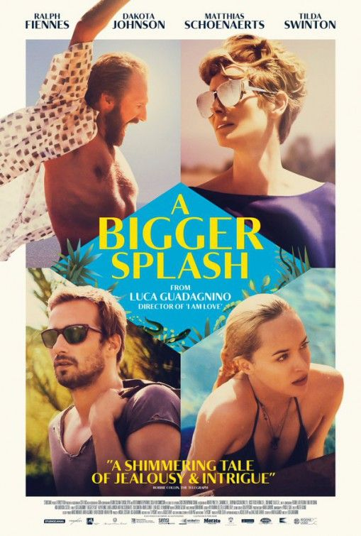 A Bigger Splash (march 2016) I didn't love it. Its long and kinda boring. Too…