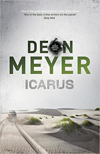 Icarus by Deon Meyer. the high profile murder of Ernst Richter, MD of a new tech startup, Alibi, whose body is discovered buried in the sand dunes north of Cape Town. Alibi is a service that creates false appointments, documents and phone calls to enable people to cheat on their partners. It has made Richter one of the most notorious people in South Africa. Can Benny pull together the strands of his life in time to catch the killer? Clever plot. Well-written and interesting.