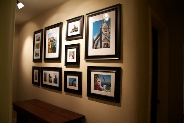 Best 25 Wall Frame Arrangements Ideas On Pinterest