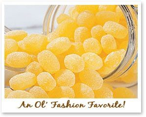 classic candy favorite! Lemon drops