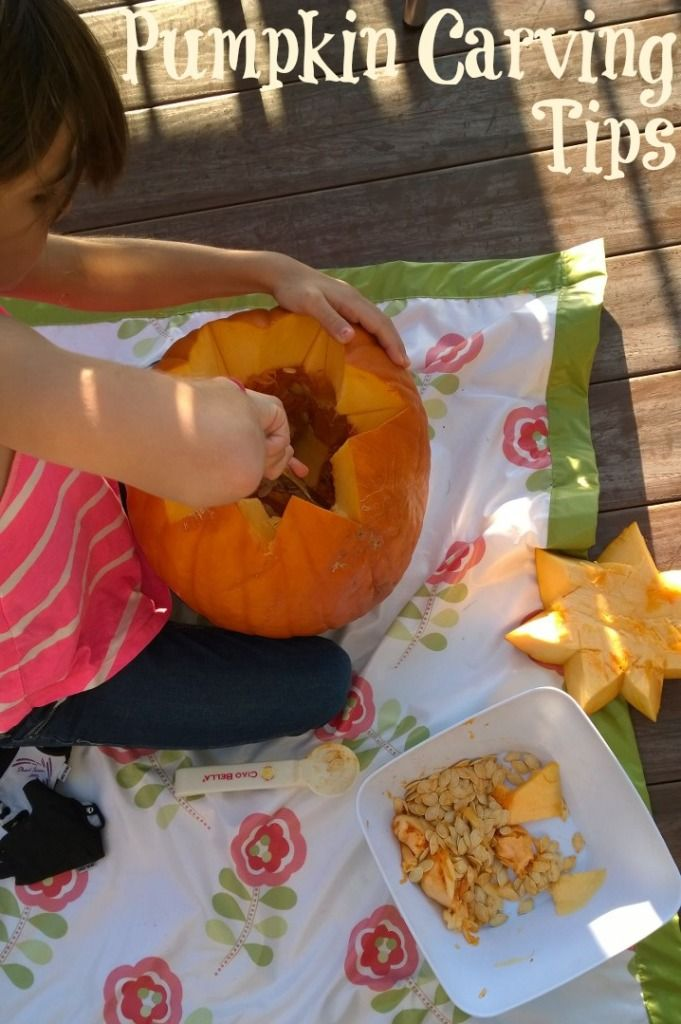 Pumpkin Carving Tips: Did you know @huggies wipes can take off stray pen marks? Lot more tips for your pumpkin carving this week! | MomTrends