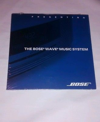 Presenting The Bose Wave System '09 Promo Cd~ New/Sealed!