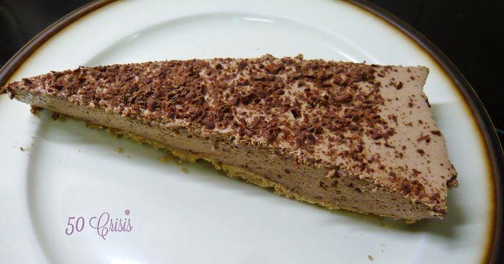 #Cocina conmigo: Tarta fría de #chocolate