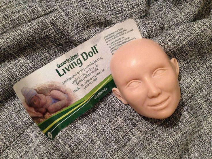 Мастер-класс: лепка головы куклы из Super Sculpey Living Doll 2