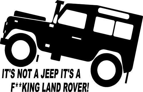 Fun Land Rover TD5 Defender 4x4 Off Road Sticker #3: Amazon.co.uk: Kitchen & Home