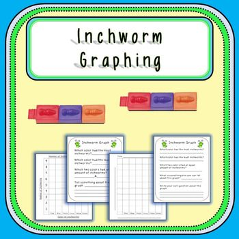 This product is designed to be used with inchworm connecting blocks. Each space on the bar graph is 1 inch tall so that students may connect the cubes they have for each color.I prefer to put a predetermined number of each color into a paper bag for students to pull out and graph.