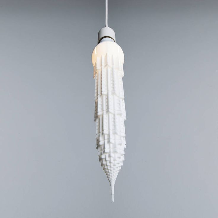 3D Printed Lightbulbs Shaped Like Skyscrapers – Fubiz Media