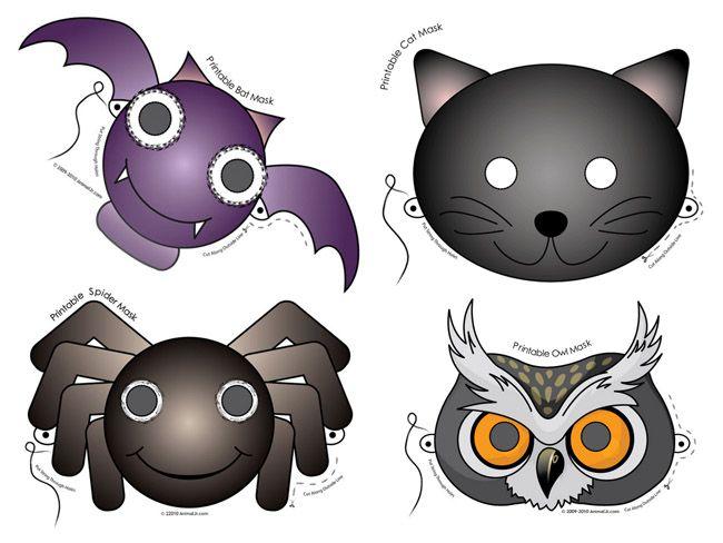 Máscaras de animales para imprimir