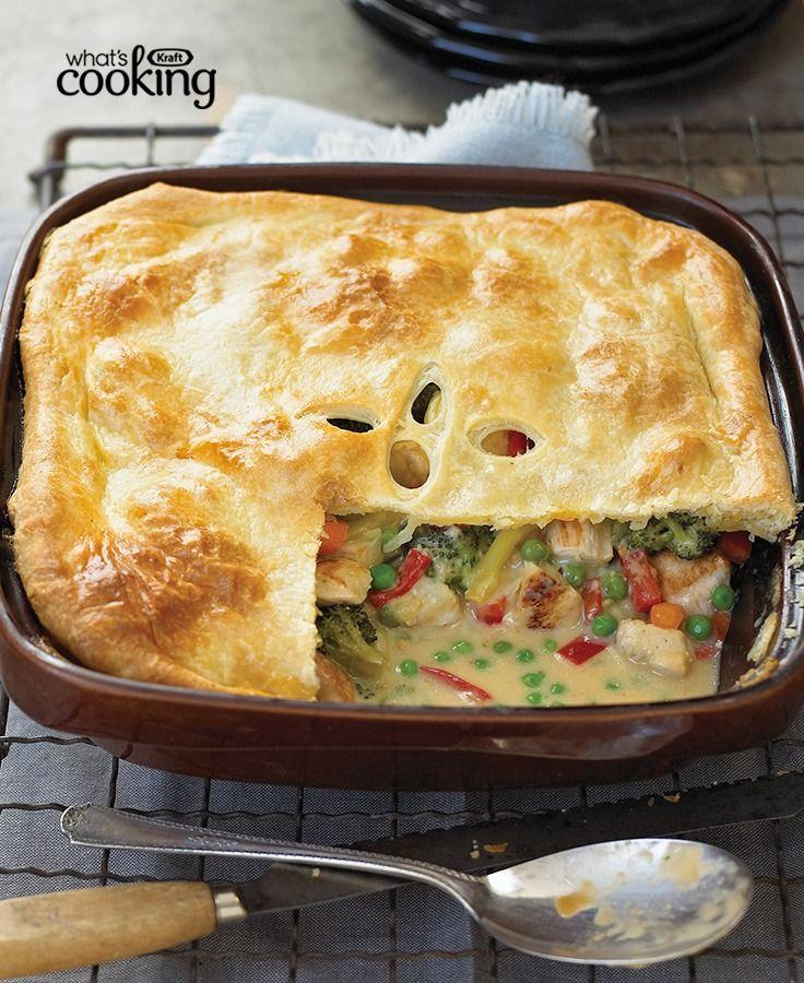 Gram's Chicken Pot Pie Updated #recipe