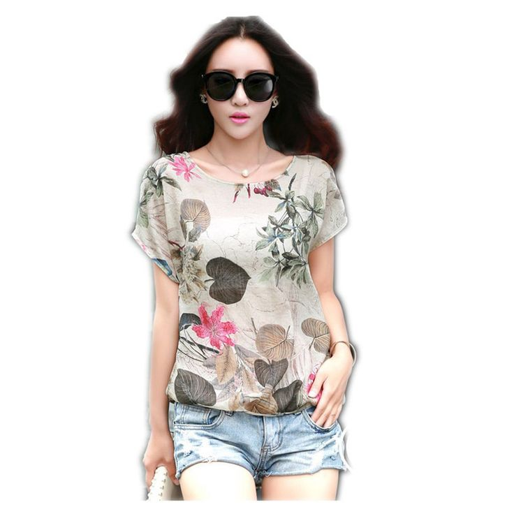 >> Click to Buy << 2016 Women Summer Fashion Short Sleeve Floral Printed T-Shirt Casual Designer Clothing Feminina Vetement Femme  Tops #Affiliate