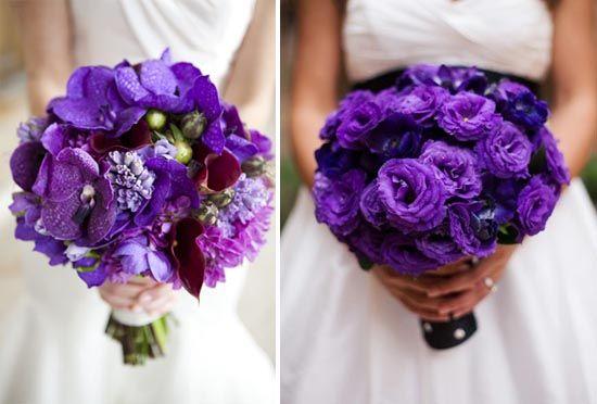 Brautstrauss ideen beispiele lila fotos ausgefallene - Ausgefallene hochzeitsdeko ideen ...