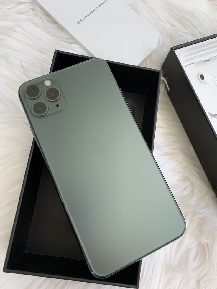 New iPhone 11 Pro Max in Midnight Green! Shop cases for