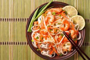 Fresh and Lively Thai Noodle Salad