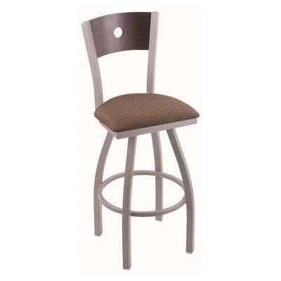 Holland Bar Stool Voltaire 30 in. Swivel Bar Stool Dark Cherry Oak Axis Willow - 83030ANDCOAKBAXSWIL