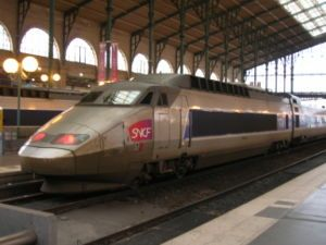 The SNCF TGV Sud-Est or TGV-PSE is a French high speed TGV train built by Alstom and operated by SNCF, the French national railway company. It is a semi-permanently coupled electric multiple unit and were built for operation between Paris and the south-east of France.