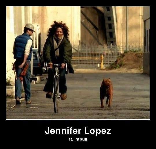 Haa! Pitbull n J. Lo...