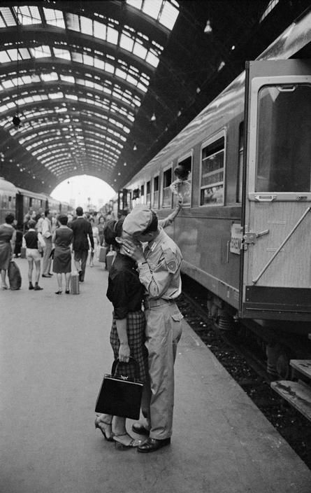 Milan, 1964. [Credit : Bruno Barbey]