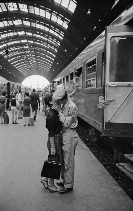 Milan, 1964. [Credit:Bruno Barbey]