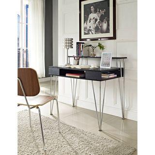 Rade Computer Desk/ Hutch   Overstock.com Shopping - The Best Deals on Computer Desks