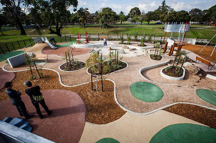 Dandenong Park Regional Playground - ASPECT Studios