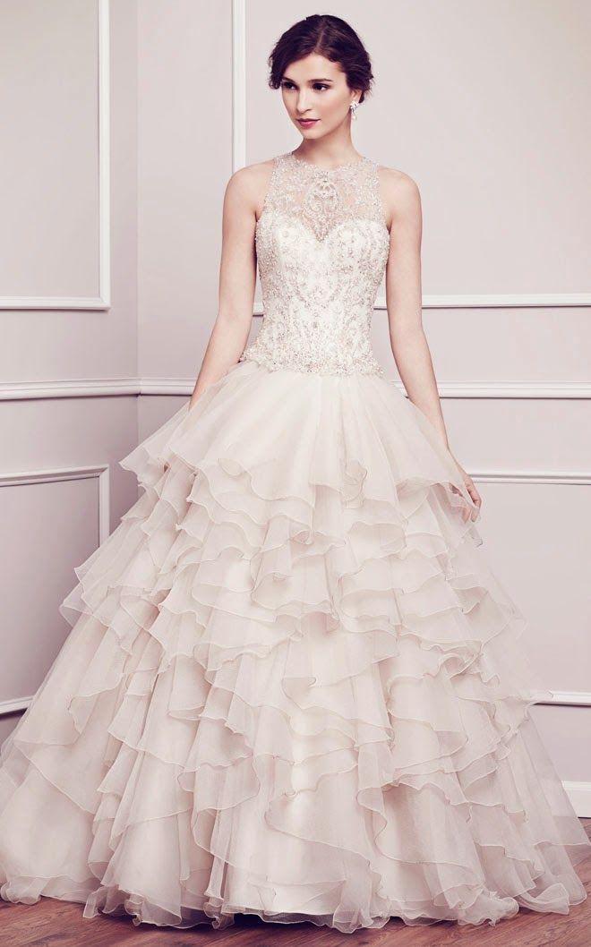 Kenneth Winston Spring 2014 Bridal Collection | bellethemagazine.com