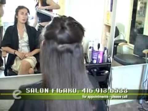 Arie Mazur Straitening & style curly hair from Toronto