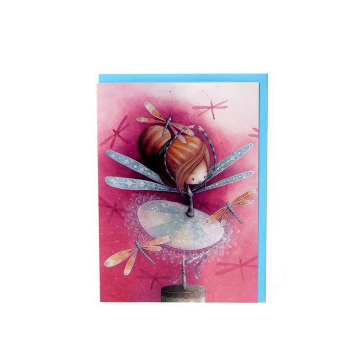 Carte Érika KETTO Card Erika // Sans inscription. // Blank. // #Carte #Card #Ketto