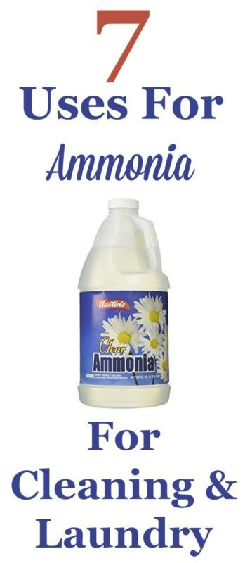 Ammonia has been a great general purpose cleaner for generations for a reason, it works! Here are 7 uses for ammonia for cleaning and laundry around your home. #ad