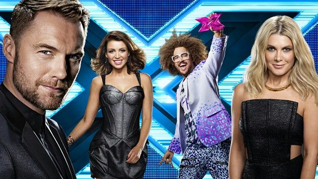 The Xfactor Australia - Ronan Keating, Dannii Minogue, Redfoo, Natalie Bassingthwaighte