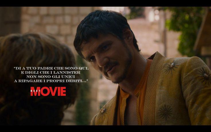 """""""I Lannister non sono gli unici a ripagare i propri debiti"""" http://www.bestmovie.it/news/il-trono-di-spade-pro-e-contro-di-two-swords-i-voti-in-anteprima-alla-puntata-4x1/287789/"""