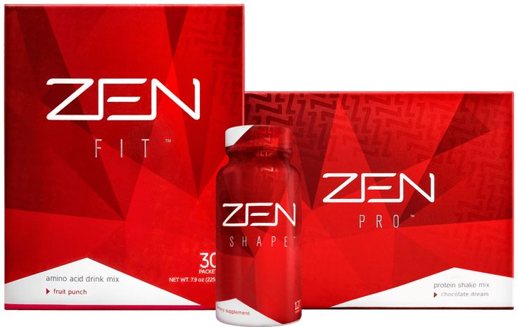 The ZEN BODI system targets the three essential aspects of getting fit: curbing appetite, burning fat and building muscle.
