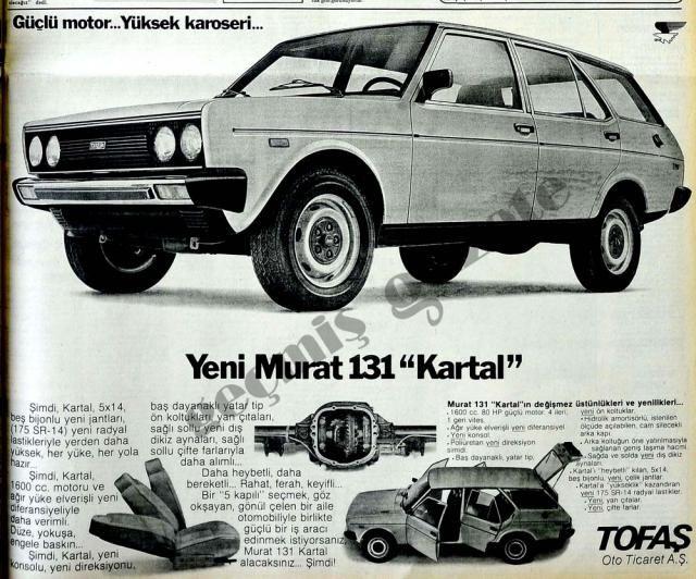 Tofaş Murat 131 adv