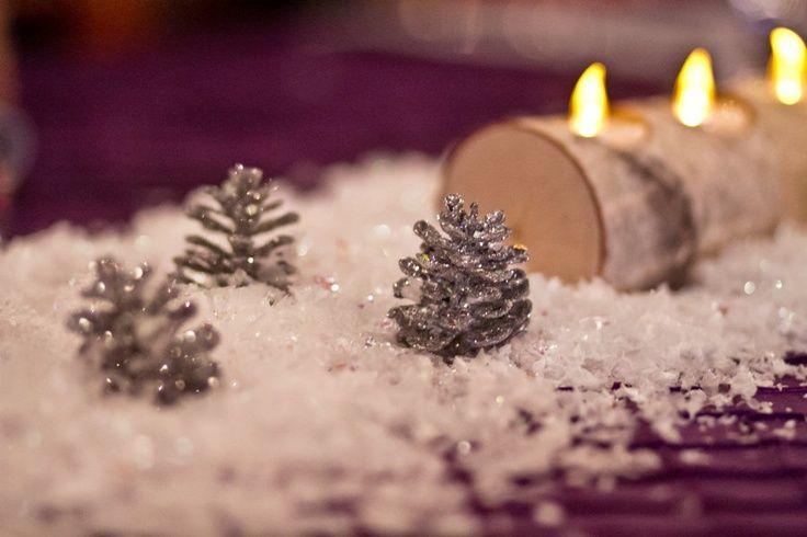 Glamorous Winter Wedding Decoration Ideas