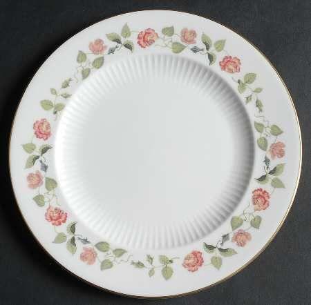 Wedgwood India Rose Salad Plate