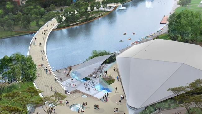 Not all footbridges are created equal - proposed footbridge over the River Torrens in Adelaide