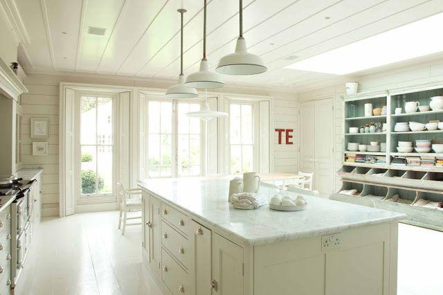 Farmhouse Style Kitchens: 3 Gorgeous & Modern in England - Hello Lovely