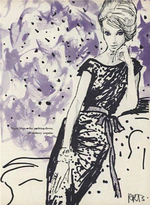 RenéBouchéfrom Vogue September 1960.