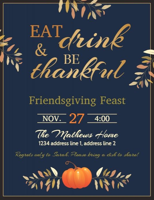 1 010  customizable design templates for thanksgiving